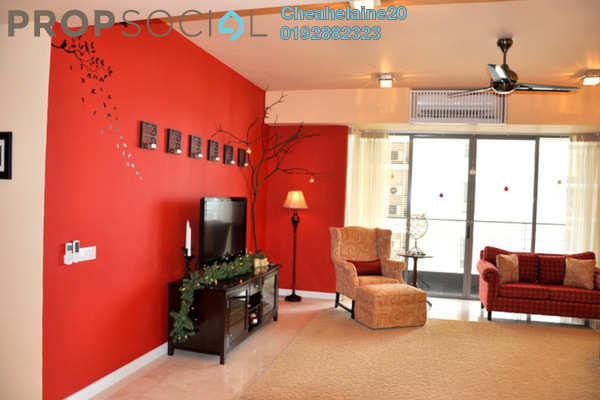 Condominium For Sale in 2 Hampshire, KLCC Freehold Semi Furnished 3R/5B 1.95m