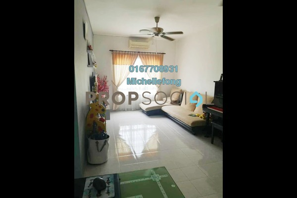 Apartment For Sale in Idaman Senibong, Bandar Baru Permas Jaya Freehold Semi Furnished 3R/2B 268k