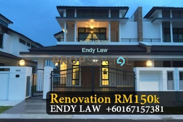 Semi-Detached For Rent in Eco Botanic, Skudai Freehold semi_furnished 4R/3B 4.5k