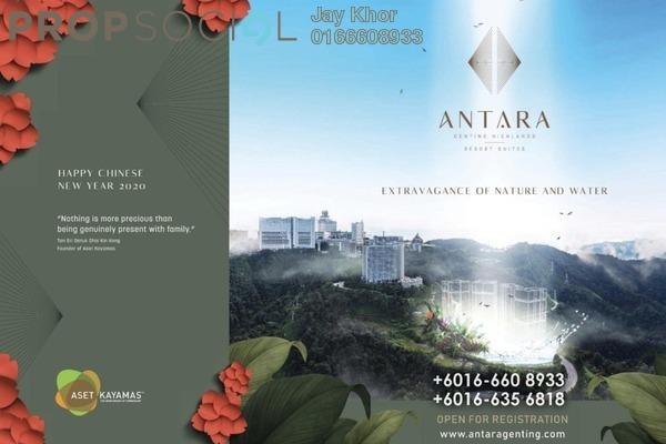 For Sale Condominium at Antara Genting Highlands Resort Suite, Genting Highlands Leasehold Fully Furnished 1R/1B 700k