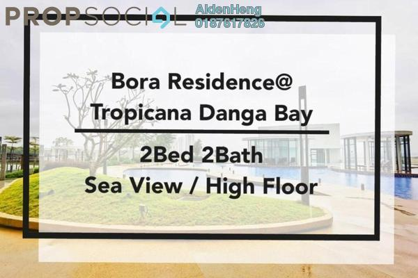 Condominium For Rent in Bora Residences, Danga Bay Freehold Fully Furnished 2R/2B 2k