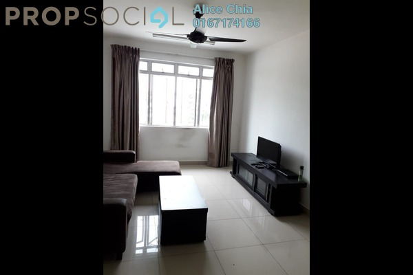 Apartment For Rent in The Pines Residence, Johor Freehold Fully Furnished 3R/2B 1.15k