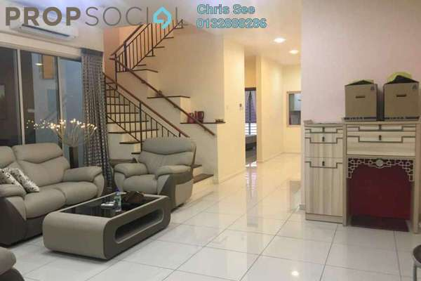 Terrace For Rent in Emerald West, Rawang Freehold Semi Furnished 5R/5B 2.2k