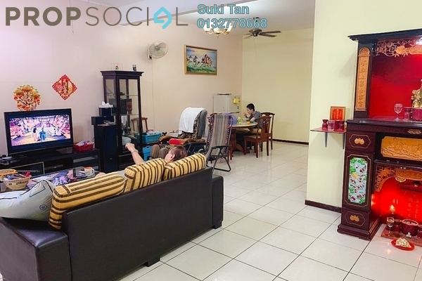 Terrace For Sale in Fortune Park, Kepong Freehold Semi Furnished 4R/3B 989k