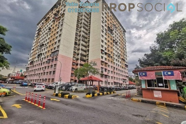 Serviced Residence For Sale in Cendana Apartment, Bandar Sri Permaisuri Freehold Semi Furnished 3R/1B 229k