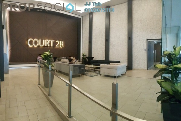 Condominium For Rent in Court 28 @ KL City, Sentul Freehold Unfurnished 3R/2B 1.6k