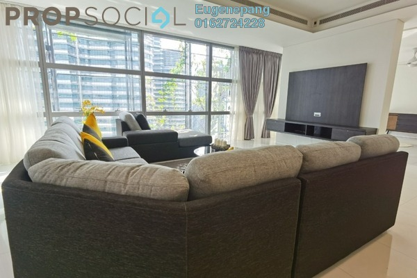 Condominium For Rent in Le Nouvel, KLCC Freehold Semi Furnished 4R/5B 12k