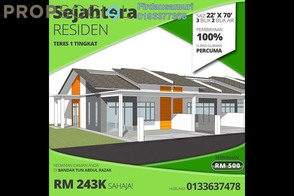 Terrace For Sale in Taman Mulia, Bandar Tun Razak Freehold Unfurnished 3R/2B 244k