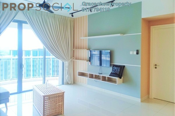 Serviced Residence For Rent in Teega, Puteri Harbour Freehold Fully Furnished 3R/2B 2.8k