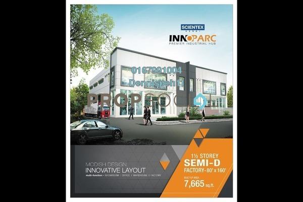 Factory For Rent in Senai Industrial Park, Senai Freehold Unfurnished 0R/0B 6.9k