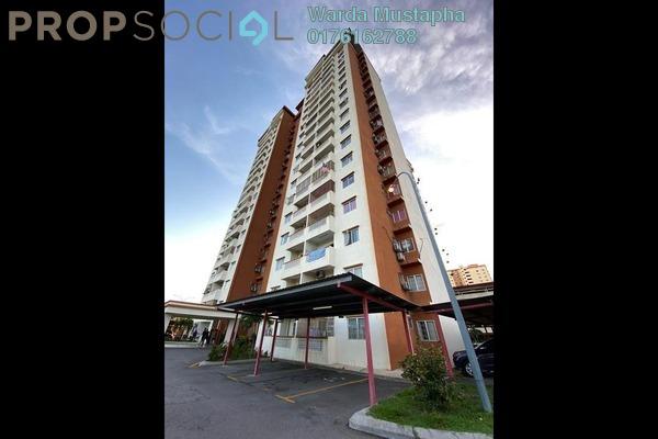 Apartment For Rent in Sri Ixora Apartment, Kajang Freehold semi_furnished 3R/2B 1.3k