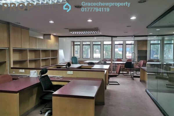 Office For Rent in Taman Pelangi, Johor Bahru Freehold Fully Furnished 0R/0B 2.5k