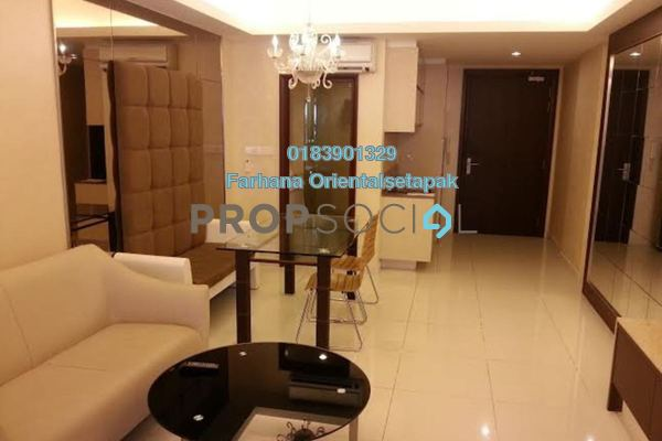 For Rent Condominium at Chelsea, Sri Hartamas Freehold Fully Furnished 1R/1B 1.8k