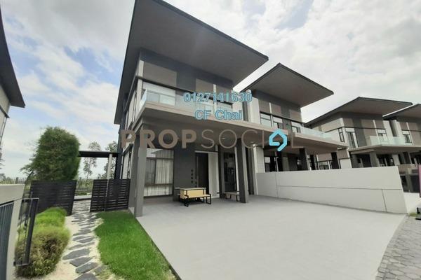 Semi-Detached For Sale in Emerald Residence, Sunway Iskandar Freehold Semi Furnished 4R/4B 1.98m