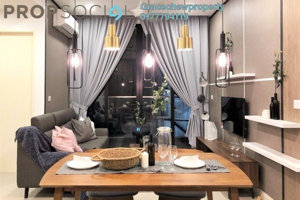 Serviced Residence For Rent in D'Pristine, Medini Freehold Fully Furnished 1R/1B 1.7k