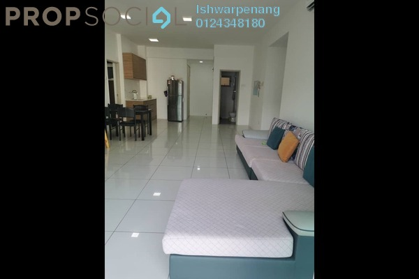 Condominium For Rent in The Latitude, Tanjung Tokong Freehold Fully Furnished 3R/3B 2.1k