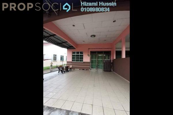 Terrace For Sale in Taman Wira Jaya, Parit Raja Freehold Semi Furnished 4R/2B 350k