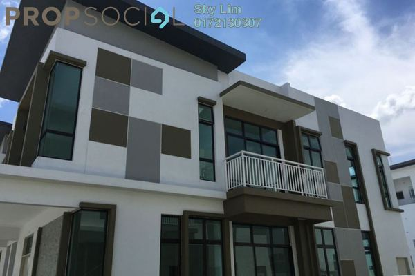 For Sale Semi-Detached at Taman Pulai Hijauan, Skudai Freehold Unfurnished 6R/9B 750k