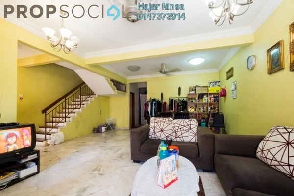 Terrace For Sale in Damai Budi, Alam Damai Leasehold Semi Furnished 4R/3B 800k