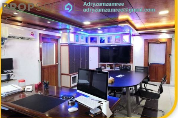 Office For Sale in Menara Centara, Chow Kit Freehold Fully Furnished 2R/2B 700k