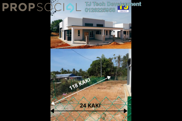 Semi-Detached For Sale in Taman Rafflesia, Pendang Freehold Unfurnished 3R/2B 435k