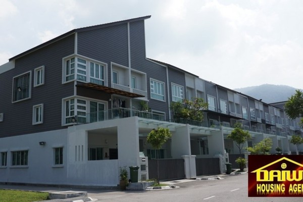 Terrace For Rent in Casa Permai 2, Tanjung Bungah Freehold Fully Furnished 5R/5B 4k