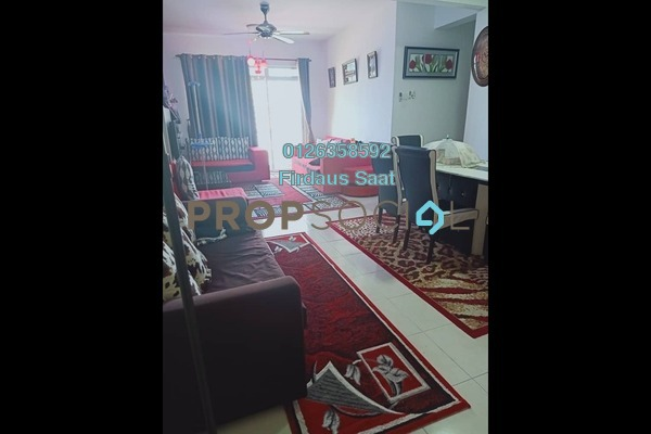 Apartment For Rent in Taman Bandar Senawang, Senawang Freehold Semi Furnished 3R/2B 1k