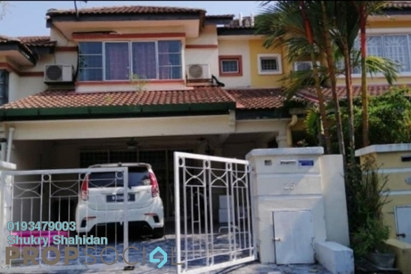 Terrace For Sale in Taman Puncak Kinrara, Bandar Kinrara Freehold Unfurnished 4R/3B 580k