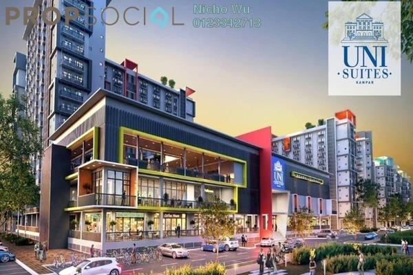 Serviced Residence For Sale in Uni Suites, Kampar Leasehold Fully Furnished 1R/1B 87k
