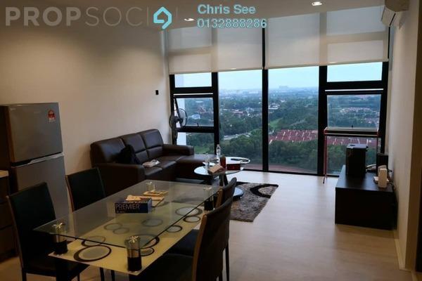 Condominium For Rent in One City, UEP Subang Jaya Freehold Fully Furnished 1R/2B 1.6k