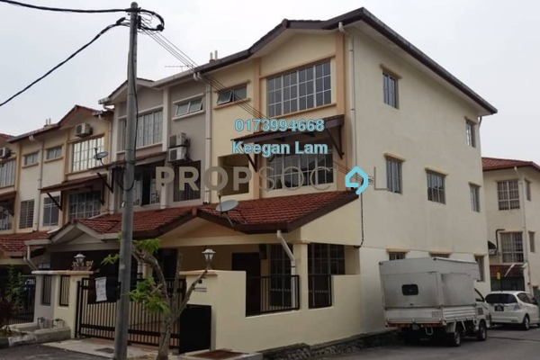 Terrace For Sale in Taman Minang Ria, Cheras South Freehold Unfurnished 6R/4B 828k