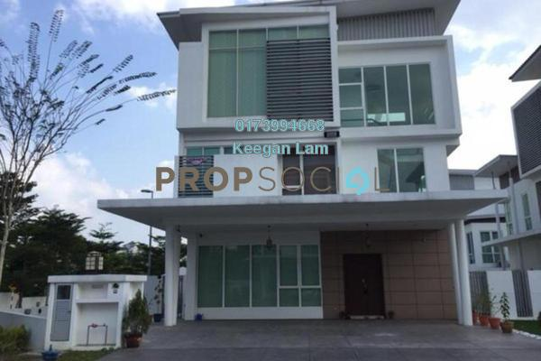 Semi-Detached For Sale in Taman Sutera Residences, Bandar Tun Hussein Onn Freehold Fully Furnished 4R/4B 1.2m