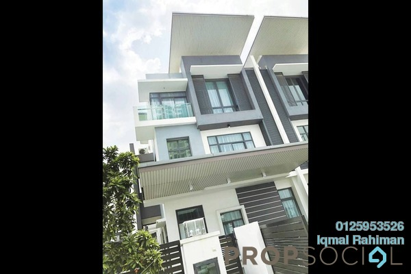 Semi-Detached For Rent in USJ One Park, UEP Subang Jaya Freehold Fully Furnished 3R/5B 6k