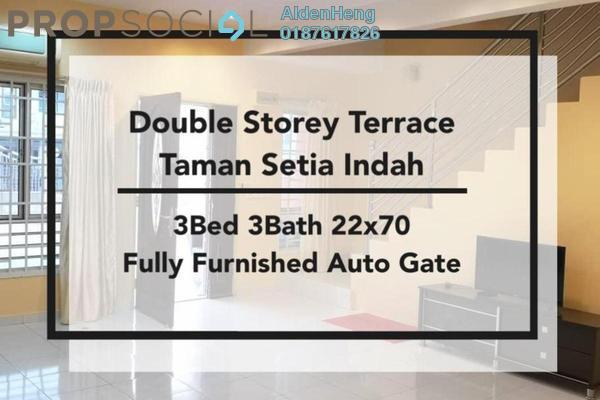 Condominium For Rent in Setia Indah, Tebrau Freehold Fully Furnished 3R/3B 1.6k
