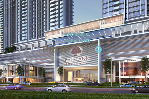 Serviced Residence For Sale in The Park Sky Residence @ Bukit Jalil City, Bukit Jalil Freehold Semi Furnished 2R/2B 790k