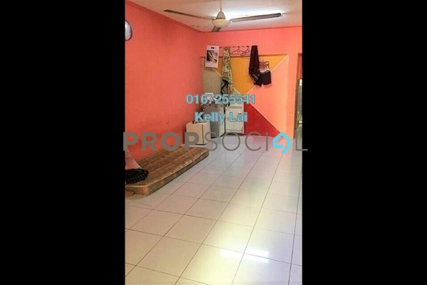 Apartment For Sale in Pelangi Magna, Kepong Freehold Semi Furnished 3R/2B 188k