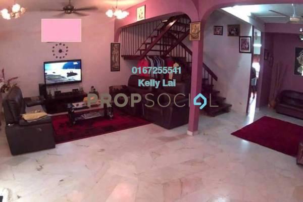 Terrace For Sale in Taman Desa Jaya, Kepong Freehold Semi Furnished 4R/3B 580k