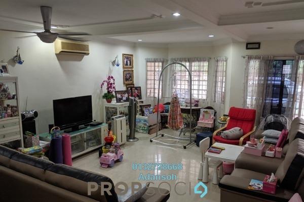 Terrace For Sale in Taman Usaha Jaya, Kepong Freehold Semi Furnished 4R/2B 785k
