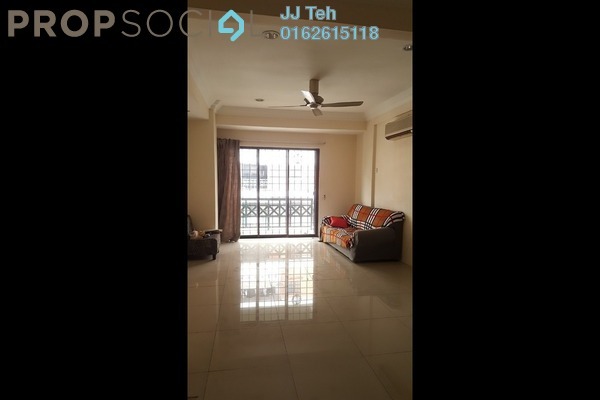 Condominium For Sale in Evergreen Park, Bandar Sungai Long Freehold Semi Furnished 3R/2B 420k