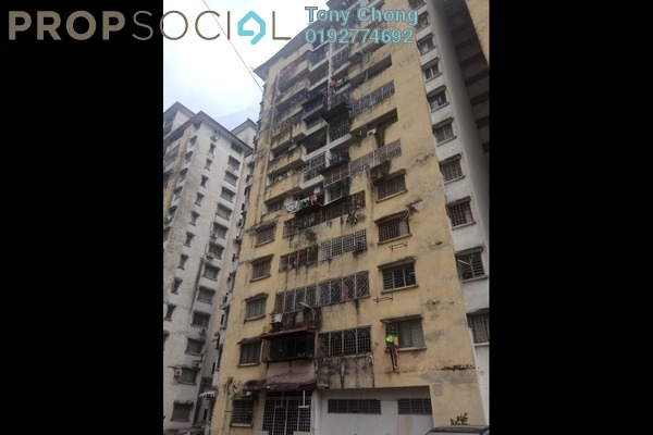 Apartment For Sale in Miharja Apartment, Cheras Freehold Unfurnished 3R/2B 275k