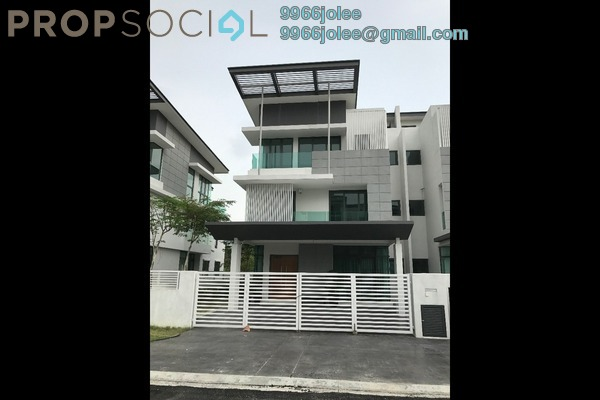 Semi-Detached For Sale in Alamaia Homes, Kota Kemuning Leasehold Unfurnished 7R/8B 1.65m