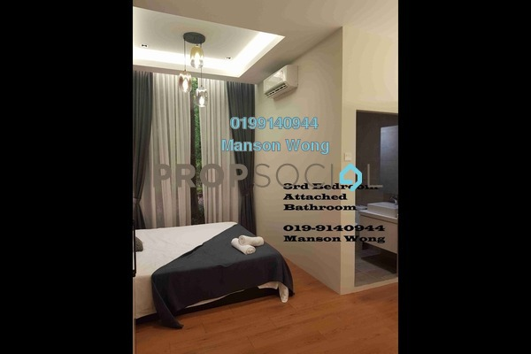 Condominium For Sale in Armani Residence, Taman Connaught Freehold Unfurnished 5R/3B 680k