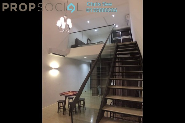 Duplex For Rent in The Square @ One City, Subang Jaya Freehold Fully Furnished 0R/1B 1.3k