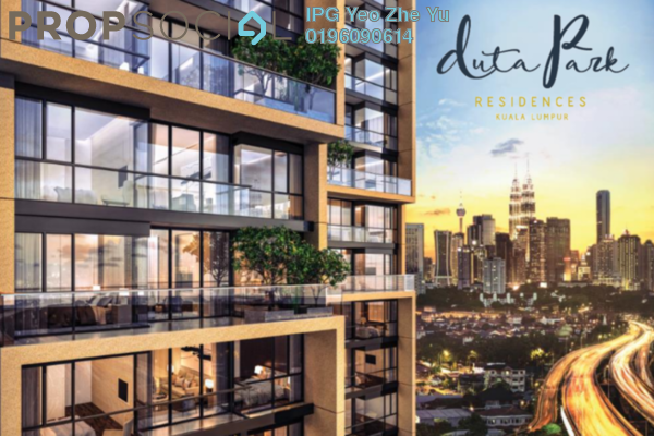 Condominium For Sale in Duta Park Residences, Jalan Ipoh Freehold Semi Furnished 3R/2B 670k