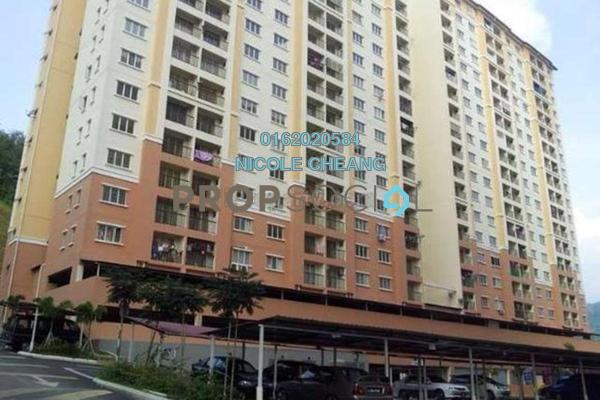 Apartment For Rent in Lakeview Apartment, Batu Caves Freehold Semi Furnished 3R/2B 850translationmissing:en.pricing.unit