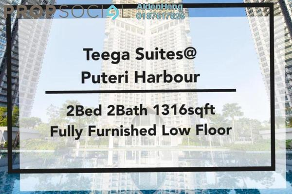 Condominium For Rent in Teega, Puteri Harbour Freehold Fully Furnished 2R/2B 2.4k