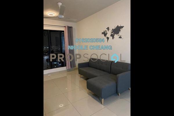 Condominium For Rent in One Maxim, Sentul Freehold Semi Furnished 3R/2B 1.4k