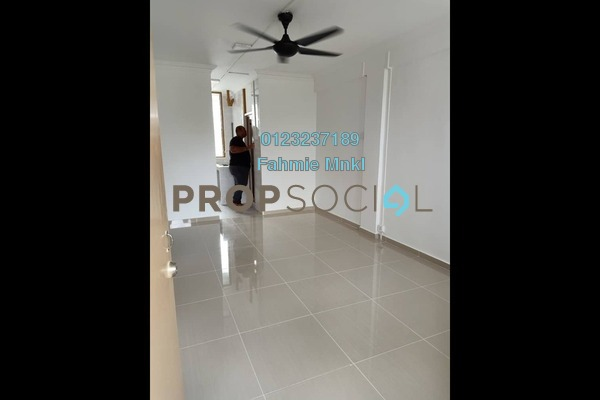 Apartment For Rent in Section 1, Wangsa Maju Freehold unfurnished 2R/1B 1k