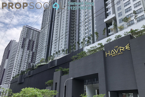 Condominium For Rent in The Havre, Bukit Jalil Freehold semi_furnished 3R/2B 2k
