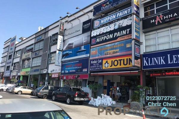 For Rent Office at Taman Len Sen, Cheras Freehold Semi Furnished 0R/1B 1.8k